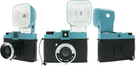 diana f+ lomography camera plastic